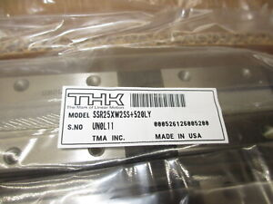 Thk Ssr25xw2ss 520ly Linear Bearing Linear Rail 520mm Long new Slide