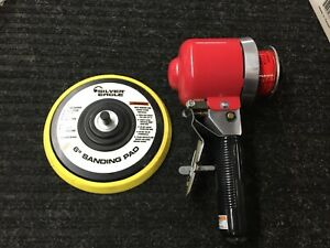 Matco Silver Eagle Se405 Quite Sander 6 Dual Action W Sanding Pad Working