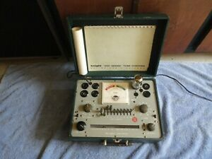 Knight Kg 600 Tube Tester Series 600 Tester Shown Testing Tubes Tight Sockets