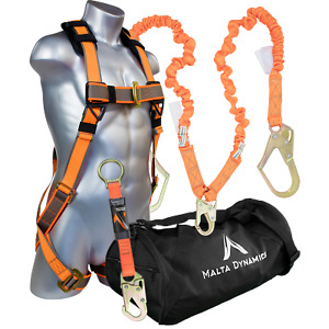 New Warthog Pass Thru Safety Harness Fall Protection Kit With 6 Double Leg