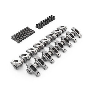 Chevy Ls 1 8 Non Adjustable Stainless Steel Roller Rockers Pedestals Bolts