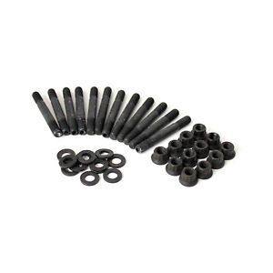 Ford Sb 289 302 351 Windsor 12 Point Black Oxide Intake Manifold Stud Kit