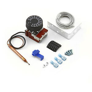 Universal 12v 85 120 Celsius Deg Adjustable Electric Thermo Fan Switch Kit