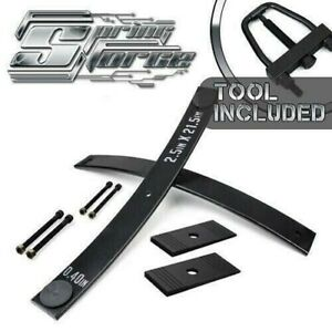 2 Add A Leaf For 82 09 Mitsubishi Montero Raider Pickup Kit With Shims Tool