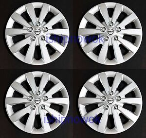 Replacement Set 16 Hubcap Wheel Cover Fits 2010 2020 Sentra Altima Rogue Leaf
