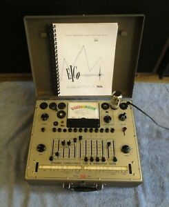 Eico 666 Dynamic Conductance Tube Tester With Owners Manual Shown Testing Tubes