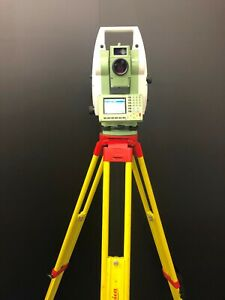 Leica Geosystem Tcrp1205 5 R400 Robotic Total Station