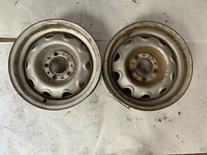 Mopar 14x6 Rally Wheels Rims Original Cuda Charger Roadrunner Challenger J16295