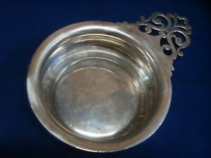 Gorham Very Heavy Sterling Silver Porringer A3916 Dated 1904 9 45 Oz Troy