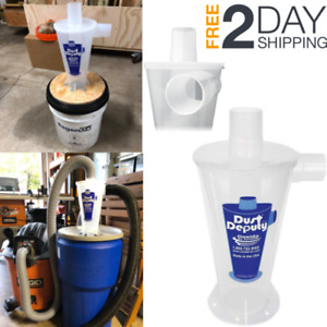 Dust Collection Deputy Cyclone Molded Diy Saw Table Blast Cabinet Cleaner Tool
