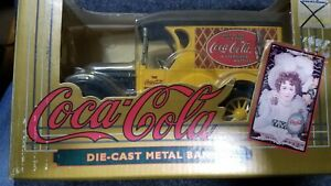 ERTL Coca Cola 1923 Chevy Van Delivery Truck Locking Bank NEW in Box #9432