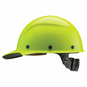 Lift Safety Dax Fiber Resin Cap Style Hard Hat With Ratchet Suspension Yellow