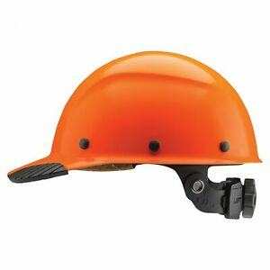 Lift Safety Dax Fiber Resin Cap Style Hard Hat With Ratchet Suspension Orange
