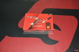 New Snap On 1 4 Drive Soft Grip Long Handle Ratchet And Led Light Thl72 Orange