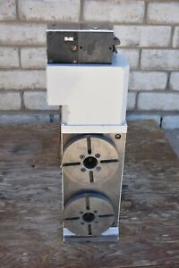 Used Tsudakoma Corp Twin Spindle Rotary Table Model Rt 251