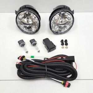Front Fog Light Kit Fit 04 07 Nissan Armada Titan Clear Lens Switch Wire Bulb