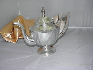 Taiping Sterling Silver Large Chinese Tea Coffee Pot 776 Gr Best Deal