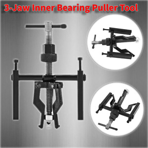 Carbon Steel 3 Jaw Inner Bearing Puller Gear Extractor Automotive Machine