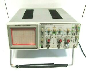 Tektronix 2235 An usm 488 100mhz Two Channel Oscilloscope As Is