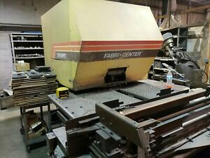Strippit Model Fc 1000 Xt Cnc Turret Punch Press With Ge Fanuc Control