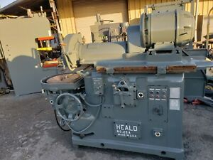 Heald 25a Rotary Surface Grinder_as described as available_1st Come 1st serve