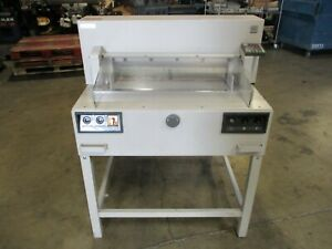 Triumph 6550 95 Ec Paper Cutter_as described as available_serious Offers Only