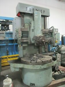 Froriep Vertical Turret Lathe_as described as available_best Deal_fcfs_