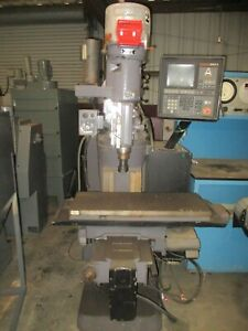 Bridgeport Series I Cnc Vertical Mill With Crusader Multiprocessor Control_nice