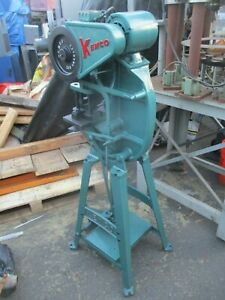 Kenco 2r 3 4_2 Ton Punch Press_as Pictured_great Deal_1st Come 1st Serve_nice