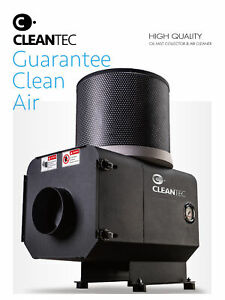 Cleantec Ct 1300 Oil Mist Collector Air Cleaner