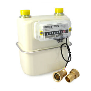 0 75 Pipe Gas Meter Manage Utility Bills Natural Gas Boiler Or Space Heater 40