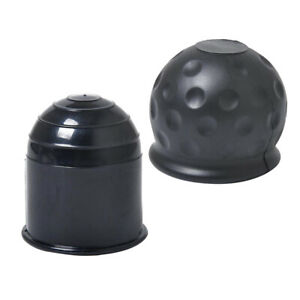 2xreplacement Auto Tow Bar Ball Cover Cap Hitch Trailer Towball Protect 50mm