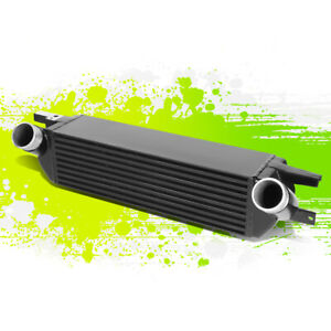For 15 19 Ford Mustang 2 3l Ecoboost Black Bar Plate Fmic Intercooler 16 17 18