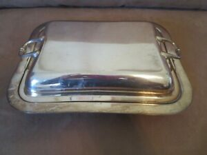 Vintage W J Rainger Auckland Covered Chafing Dish Ep
