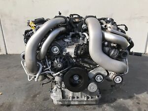 Mercedes W221 W216 S63 Cl63 5 5l Amg Complete Twin Turbo Engine Motor 57k