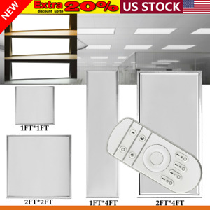 Led Panel Lighting 64w 42w 36w 18w Suspended Recessed Ceiling Flat Down Fixture