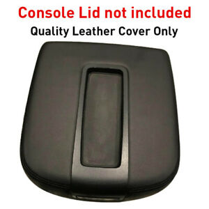 Car Console Lid Armrest Synthetic Leather Cover For Silverado Sierra Yukon 07 14