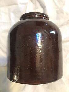 Awesome Red Wing Minnesota Stoneware Wax Sealer Jar Crock