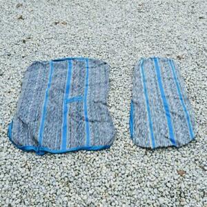 Nos Royal Blue Saddle Blanket 60 40 Split Bench Seat Cover For 1988 91 Gm Pickup
