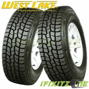 2 Westlake Sl369 235 75r15 109s Xl All Terrain A T M S Rated Truck Suv Tires
