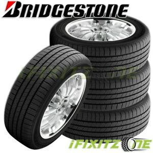 4 Bridgestone Turanza El42 Rft 245 50r18 100v High Performance Run Flat Tires
