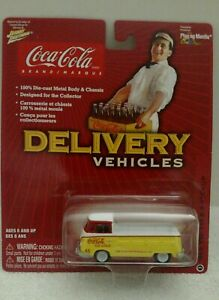 Johnny Lightning Coca Cola Delivery Vehicles 1965 VW Type 2 Pick up