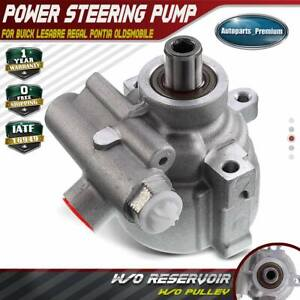 Power Steering Pump W O Pulley For Buick Pontiac Lesabre Park Avenue 20895
