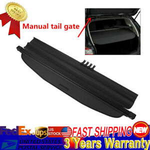 Cargo Cover Security Trunk Shield For 13 18 Subaru Forester Manual Tail Gate