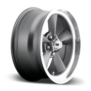 15x8 Et1 Us Mag U102 Standard 5x120 7 Matte Anthracite Rims set Of 4