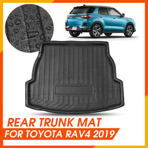 Car Rear Trunk Mat Cargo Boot Liner Tray Protector For Toyota Rav4 2019 2020 New