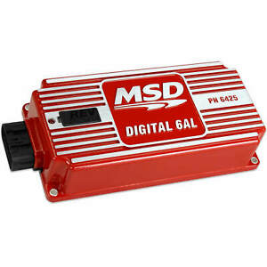 Msd 6425 Digital 6al Ignition Control Box With Built in Rev Limiter