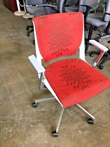 Modern Chair By Haworth Very In Orange Color