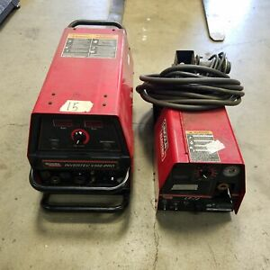 Lincoln Electric Code 10934 Invertec V350 pro Welder Feeder Lf 72 Code 11291