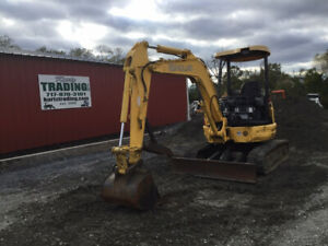 2006 New Holland Eh35b Hydraulic Mini Excavator W Thumb Only 2000 Hours